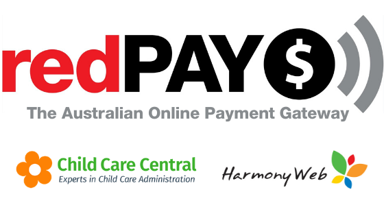 redPAY support Harmony Web and Child Care Central software customers